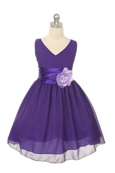 Chelsea Dress - Purple