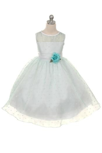 Masie Dress - Pale Mint - Size 8