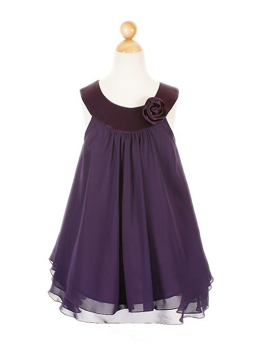 Ashleigh Dress - Purple