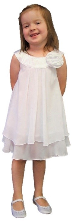 Ashleigh Dress - White