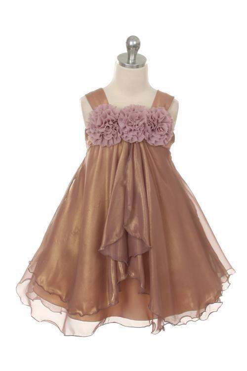 Ava Rose Dress - Mauve - Size 3/4