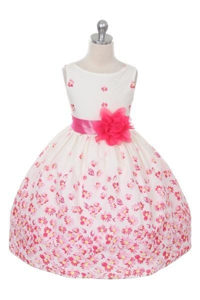 Britt Dress - Fuchsia - Size 5/6