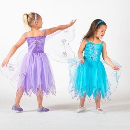 Organza Butterfly Fairy - Purple