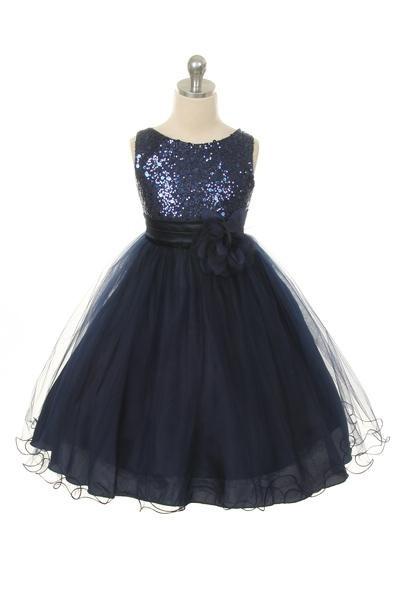 Carly Dress - Navy