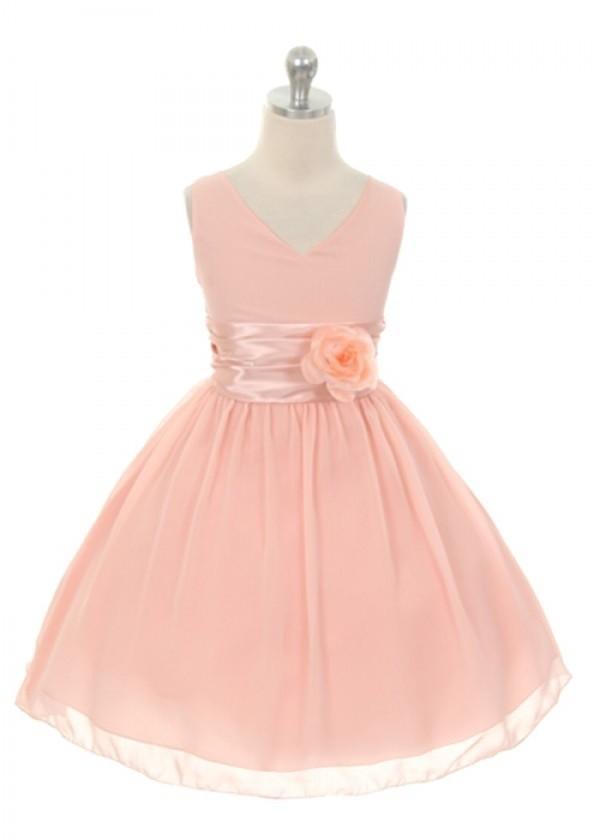 Chelsea Dress - Blush - Size 3/4 *FINAL STOCK