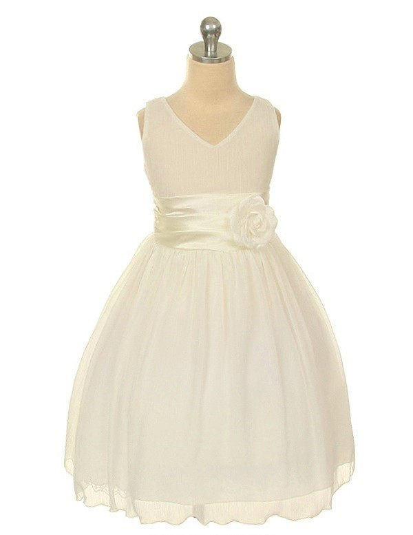 Chelsea Dress - Ivory - Size 5/6 *FINAL STOCK
