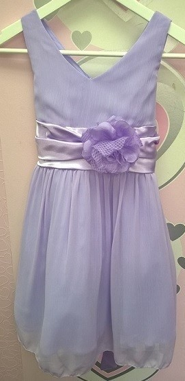 Chelsea Dress - Lilac - Size 7/8 *FINAL STOCK