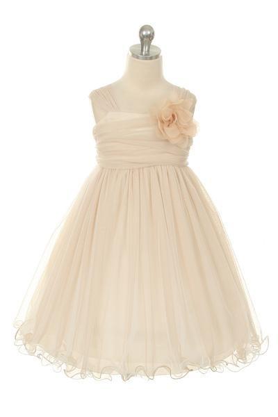 Clara Dress - Champagne - Size 13/14 *FINAL STOCK