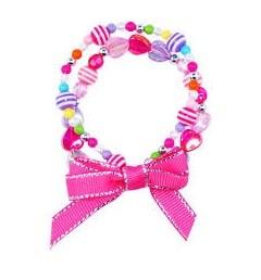 *Pink Poppy Double Strand Candy Land Bracelet