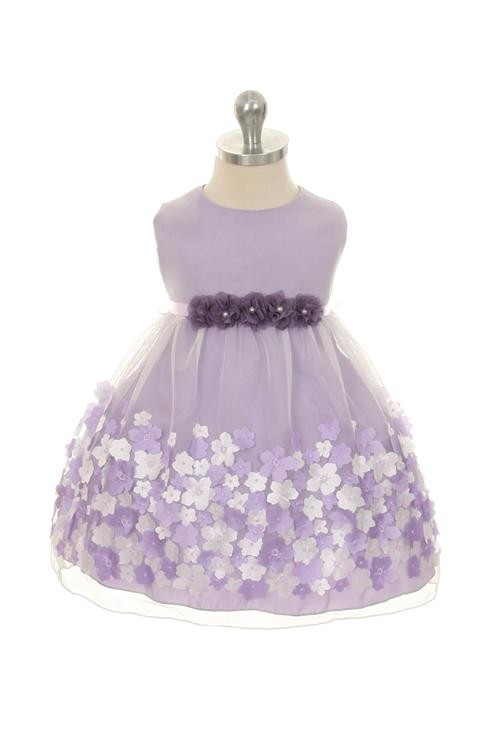 Elise Dress - Lavender (Infant)