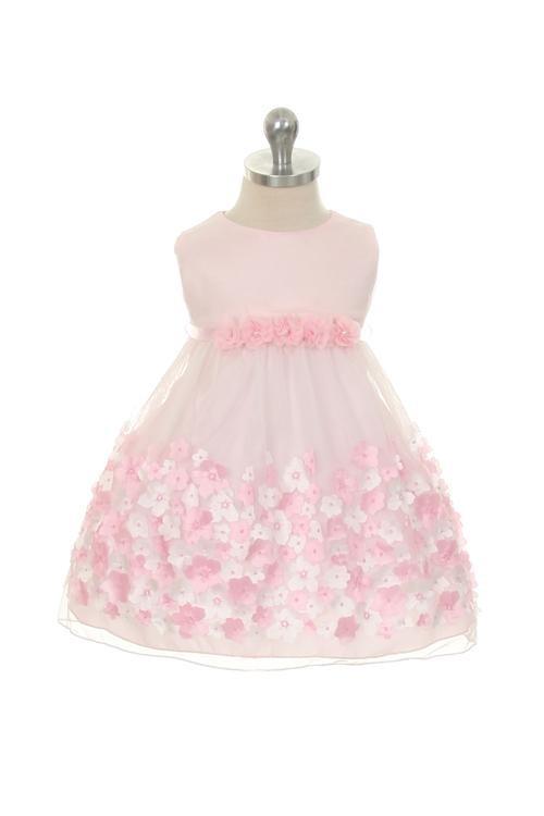 Elise Dress - Pink (Infant)