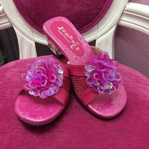 Princess Heels - Hot Pink (Style - F7172)