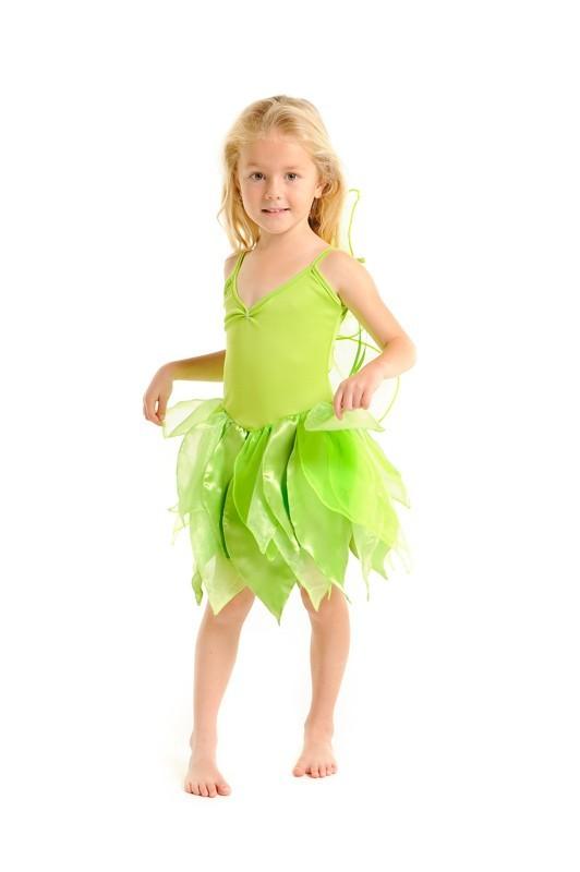 Fairy Girls Tinker Dress (Tinkerbell) Large (6-8)