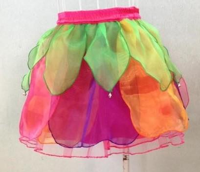 Fairy Tulip Skirt - Rainbow