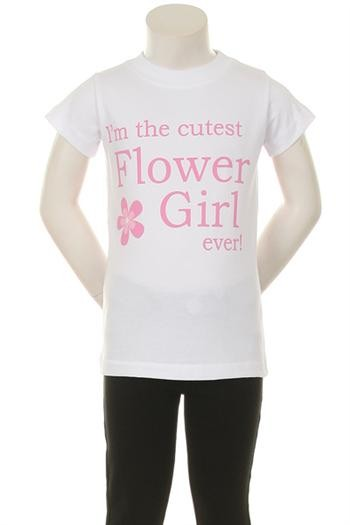 I'm The Cutest Flower Girl ever Tee