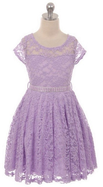 Isabella Dress - Lilac