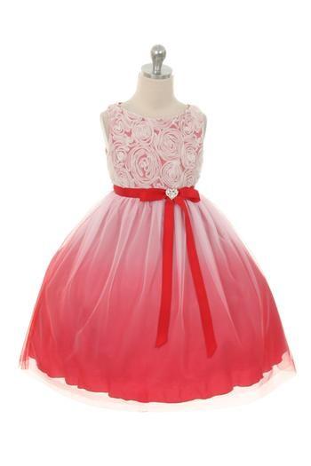 Juliana Dress - Red