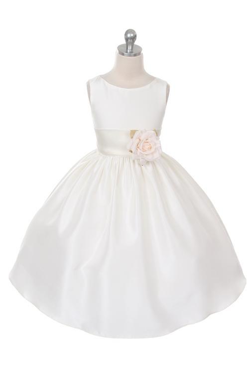 Kirsty Dress - White