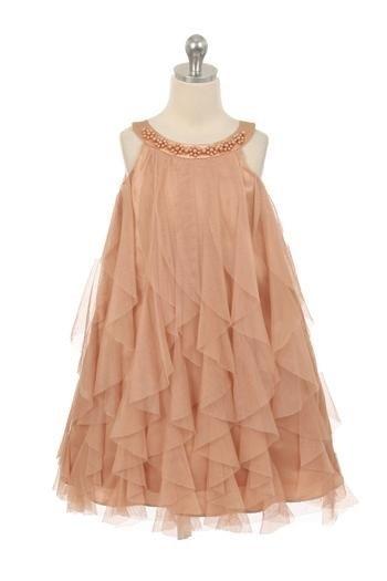 Laura Dress - Champagne - Size 3/4