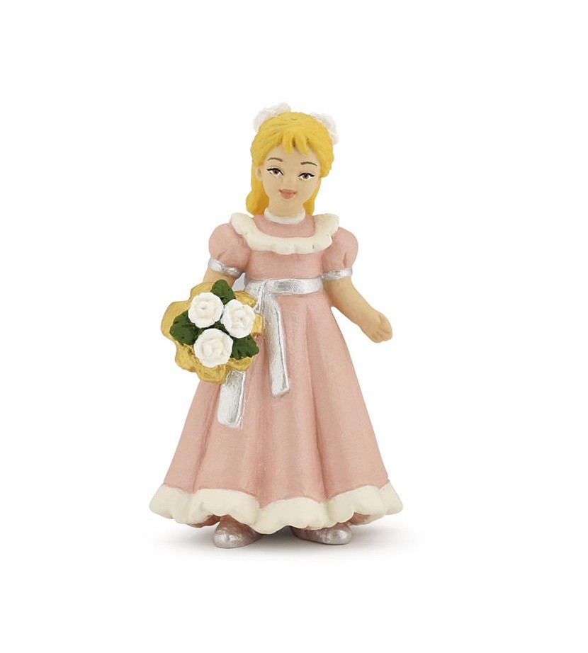 Papo Maid of Honour/Flower girl figurine