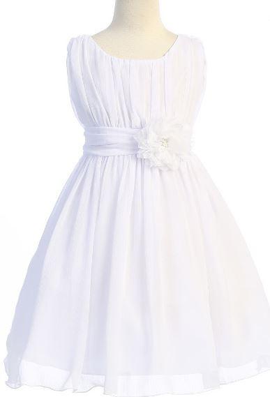 Maria Dress - White