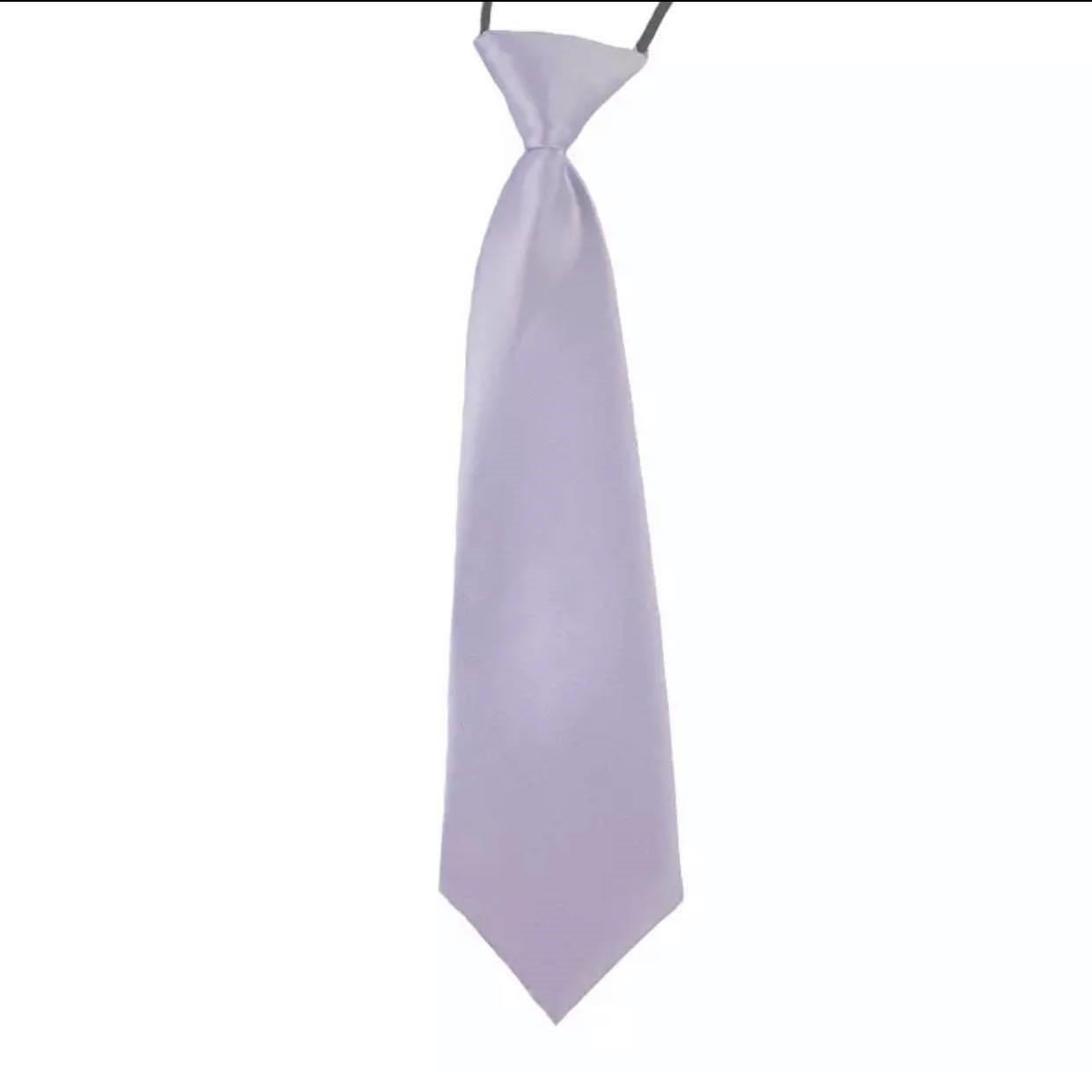 Kids Tie - Mauve