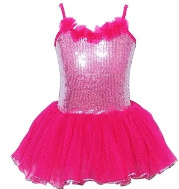 Pink Poppy Paris Diva Sparkle Dress - Hot Pink - Size 5/6
