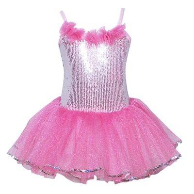 Pink Poppy Paris Diva Sparkle Dress - Light Pink - Size 5/6