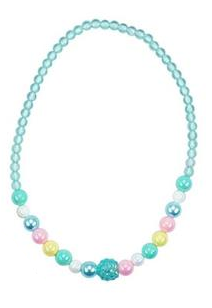 Pink Poppy Pastel Dream Necklace - Blue