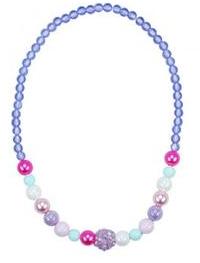 Pink Poppy Pastel Dream Necklace - Purple