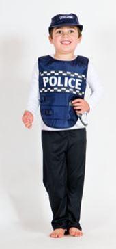 Police Vest & Cap