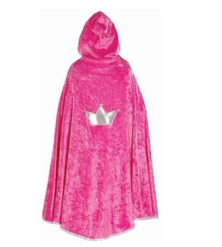 Great Pretenders Princess Cape - Hot Pink