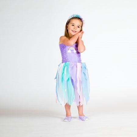 Rainbow Dress Pastel