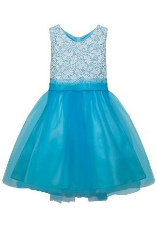 Sasha Dress - Aqua Blue