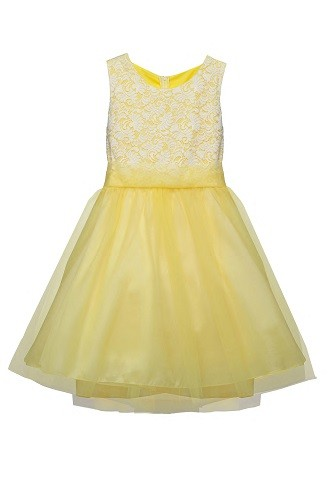 Sasha Dress - Yellow