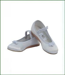 Flower girl shoes - Ivory
