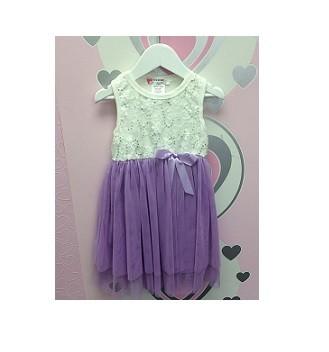 Scarlett Dress - Lilac (18 Mths)