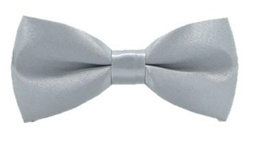 Kids  Bow Tie - Silver