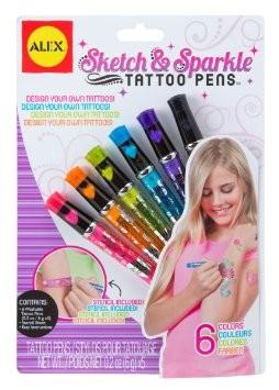 Alex - Sketch and Sparkle Tattoo Pens