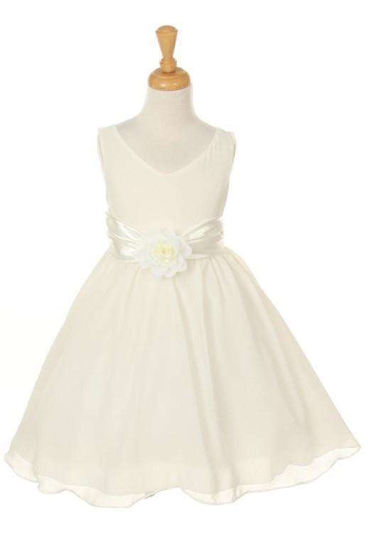 Steph Dress - Ivory - Size 11/12