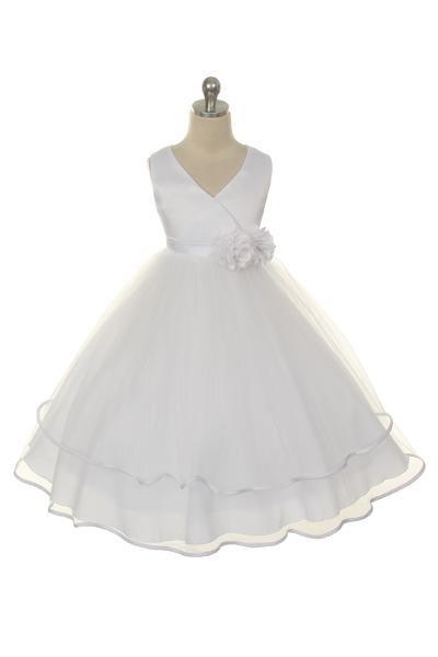 Taylor Dress - White