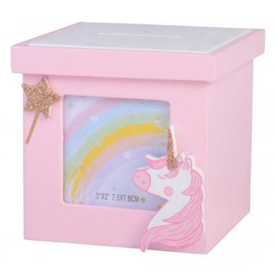 Unicorn Money Box and Photoframe