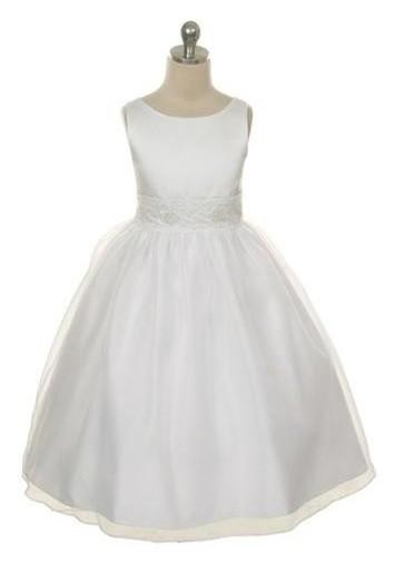 Victoria Dress - Ivory - Size 11/12