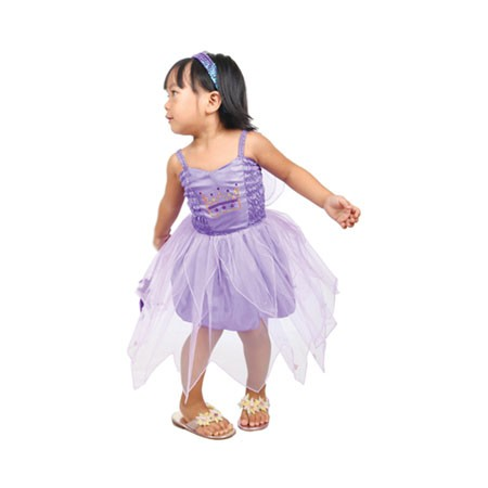 Little Miss Cutie Fairy Dress Lilac - Infant (1-2 Years)
