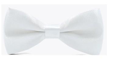 Kids  Bow Tie - White