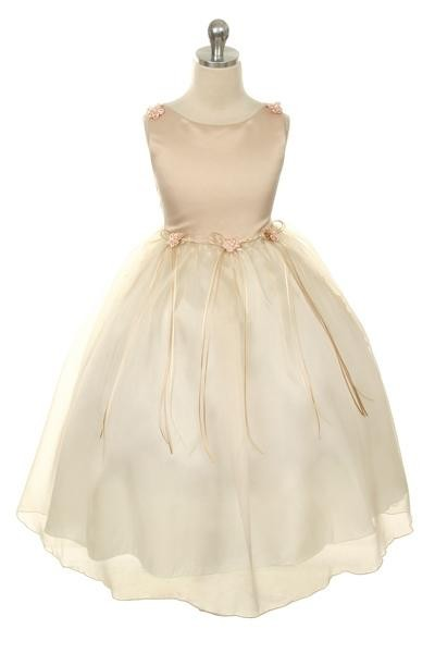 Zahara Dress - Champagne