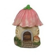 10cm Mushroom Fairy Garden House - Petal