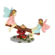 12cm Fairies on Seesaw