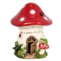 19cm Mushroom Fairy House