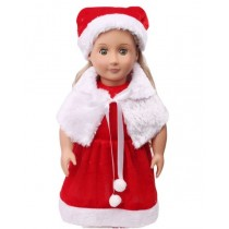 "18"" 3pc Santa Outfit"